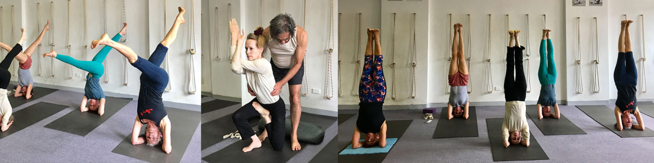 SKYS certified Iyengar teachers