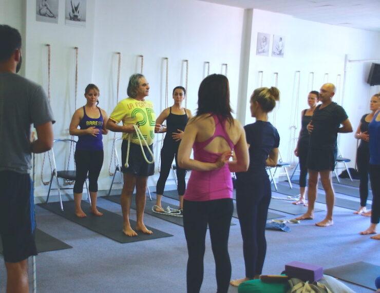Senior Iyengar Yoga Teacher Simon Morocco